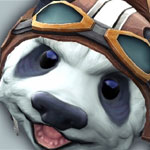 DotA 2 Courier Captain Bamboo