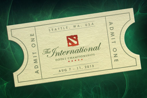 International 2013 Ticket