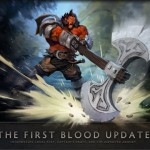 DOTA 2 ACTUALIZACION: THE FIRST BLOOD UPDATE