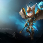 DOTA 2 Fan Art: Skywrath Mage Chibi