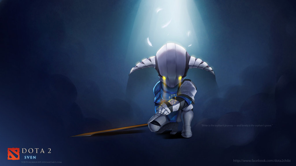 DOTA 2 Fan Art: Sven Chibi
