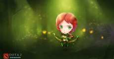 DOTA 2 Fan Art: Windrunner Chibi