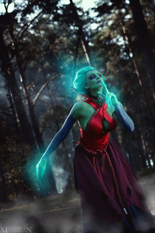Dota 2 cosplay: Death Prophet