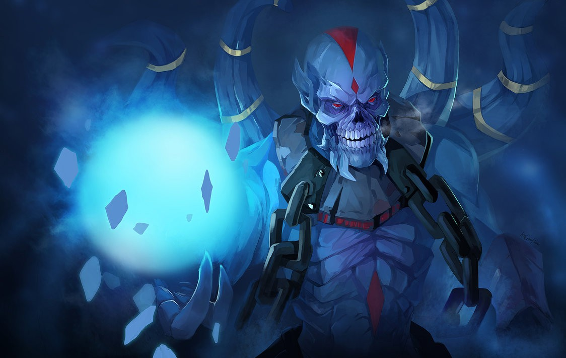 DOTA 2 Fan Art: Lich