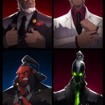 DOTA 2 Fan Art: Mafia
