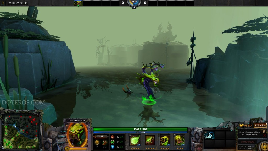 Venomancer in-game