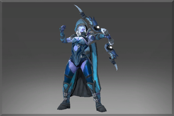 Death Shadow Set (Drow Ranger)