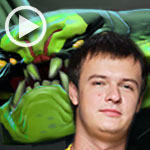 "DOTA 2 Gameplay (T.K.O. Tournament): ""XBOCT"" con Viper DOBLE RAMPAGE"