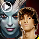 "DOTA 2 Gameplay: ""Dendi"" con Queen of Pain"