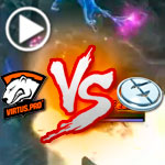 DOTA 2 Gameplay (DOTA 2 League S5): Virtus Pro Polar Vs. EG