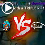 DOTA 2 Gameplay (joinDOTA MLG Pro League S2): Not Today Vs ROOT