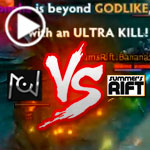 DOTA 2 Gameplay (TI5 America Open Qualifier):  Unknown Vs. Summers Rift